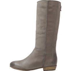HUB NORTH Kozaki dark grey/natural. Szare buty zimowe damskie HUB, z materiału. W wyprzedaży za 395,45 zł.