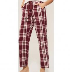 Spodnie piżamowe w kratę - Wielobarwn. Czarne piżamy damskie marki Reserved, l. Za 59,99 zł.