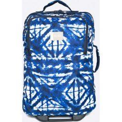 Roxy - Walizka Wheelie. Szare torby na laptopa marki Roxy, z materiału. W wyprzedaży za 299,90 zł.