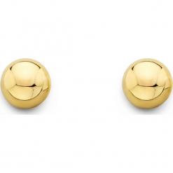 Złote kolczyki-wkrętki. Żółte kolczyki damskie REVONI, złote. W wyprzedaży za 135,95 zł.