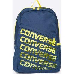 Converse - Plecak. Szare plecaki męskie Converse, w paski, z poliesteru. W wyprzedaży za 79,90 zł.