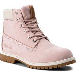 Trapery BIG STAR - BB274440 Pink. Czerwone buty zimowe damskie BIG STAR, z materiału. Za 299,00 zł.