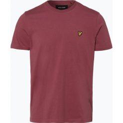 T-shirty męskie: Lyle & Scott – T-shirt męski, czerwony