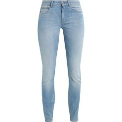 GStar GSTAR SHAPE HIGH SUPER SKINNY  Jeans Skinny Fit legend ultimate stretch denim. Niebieskie jeansy damskie relaxed fit G-Star, z bawełny. W wyprzedaży za 395,40 zł.