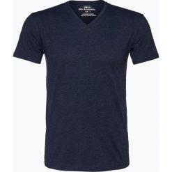 Nils Sundström - T-shirt męski, niebieski. Niebieskie t-shirty męskie Nils Sundström, m, z klasycznym kołnierzykiem. Za 49,95 zł.