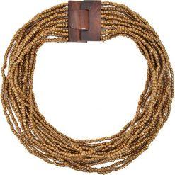 Naszyjniki damskie: Naszyjnik w kolorze złotym – (D)57 cm