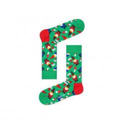 Skarpetki Happy Socks - Holiday XMAS (GGN01-7000). Czarne skarpetki męskie marki Happy Socks, z bawełny. Za 34,90 zł.