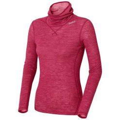 Odlo Koszulka damska Shirt l/s turtle neck Revolution TW Warm różowa r. L. Czerwone topy sportowe damskie Odlo, l. Za 236,37 zł.