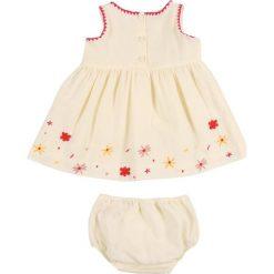 Sukienki dziewczęce: Sonia Rykiel BABY ASSA SET Sukienka letnia vanilla