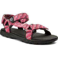 Sandały JACK WOLFSKIN - Seven Seas 2 Sandal G 4029961 D Tropic Pink. Czerwone sandały dziewczęce marki Jack Wolfskin, z materiału. W wyprzedaży za 169,00 zł.