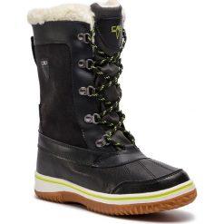 Śniegowce CMP - Junior Kide Afterski Boot Wp 38Q4504 Grafite U887. Niebieskie buty zimowe damskie CMP, z materiału. Za 299,99 zł.