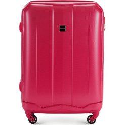 Walizka średnia 56-3A-372-60. Czerwone walizki marki Wittchen, z gumy, średnie. Za 179,00 zł.