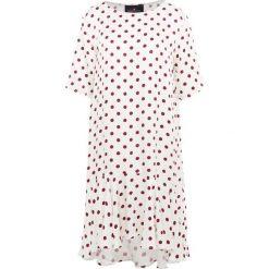 DESIGNERS REMIX KEVIN DRESS Sukienka letnia cream/ burgundy. Białe sukienki letnie marki DESIGNERS REMIX, z elastanu, polo. Za 969,00 zł.
