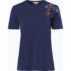 Marie Lund - T-shirt damski, niebieski. Niebieskie t-shirty damskie Marie Lund, xs, z haftami. Za 69,95 zł.