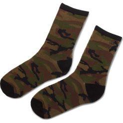 Skarpety Wysokie Damskie VANS - Ticker Sock VN0A2XBNCMA Camo. Zielone skarpetki damskie marki Vans, z bawełny. Za 39,00 zł.