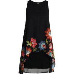 Desigual VEST CARIBOU Sukienka letnia black. Czarne sukienki letnie Desigual, z materiału. Za 379,00 zł.