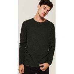 Sweter basic - Zielony. Zielone swetry klasyczne męskie marki House, l. Za 79,99 zł.