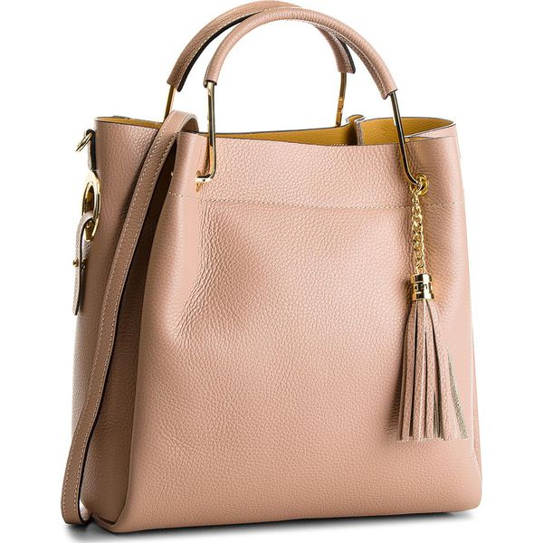 d821b1f51128b Torebka CREOLE - K10509 Pudrowy Róż - Różowe torebki klasyczne ...