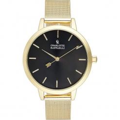 Zegarek kwarcowy w kolorze czarno-złotym. Żółte, analogowe zegarki damskie Stylowe zegarki, ze stali. W wyprzedaży za 136,95 zł.