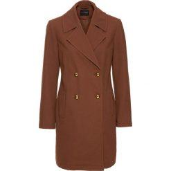 Płaszcze damskie pastelowe: Płaszcz przejściowy bonprix orzechowy