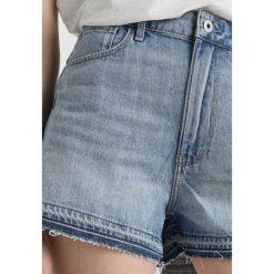 GStar ARC HIGH BF  Szorty jeansowe lt aged destroy. Niebieskie szorty jeansowe damskie marki G-Star. Za 369,00 zł.