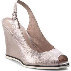 Rzymianki damskie: Sandały EKSBUT – 4139-H56-IG Róż Licowa
