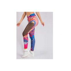 Spodnie damskie: SFD Legginsy Colorful r. S (59096)
