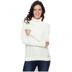 Sir Raymond Tailor Sweter Damski L Biały. Białe swetry klasyczne damskie Sir Raymond Tailor, l, z wełny. Za 199,00 zł.