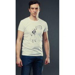 T-shirt MIASTO JEST MOJE męski biały. Białe t-shirty męskie marki Hultaj Polski, l, z bawełny. Za 79,00 zł.