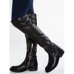 A.S.98 Muszkieterki nero. Czarne buty zimowe damskie A.S.98, z materiału. W wyprzedaży za 1151,20 zł.
