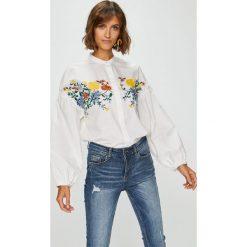 Medicine - Koszula Suffron Spice. Szare koszule damskie marki MEDICINE, l, z haftami, z bawełny, casualowe, ze stójką, z długim rękawem. W wyprzedaży za 69,90 zł.
