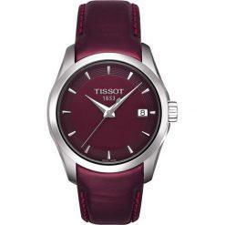 RABAT ZEGAREK TISSOT T-TREND T035.627.11.031.00. Brązowe zegarki męskie TISSOT, ze stali. W wyprzedaży za 2948,00 zł.