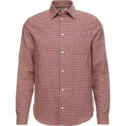 Whyred MILLS CHECK Koszula aura orange. Brązowe koszule męskie marki FORCLAZ, m, z materiału, z długim rękawem. Za 629,00 zł.
