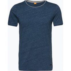 Odzież: BOSS Casual – T-shirt męski – Twidget, niebieski