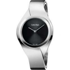 ZEGAREK CALVIN KLEIN SENSES K5N2M121. Czarne zegarki damskie marki Calvin Klein, szklane. Za 1199,00 zł.