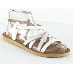 Sandały damskie: Sandały w kolorze białym