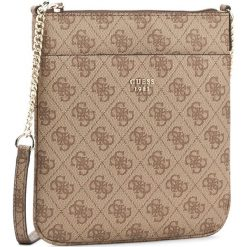 Torebka GUESS - Jolen (SG) Mini-Bag HWSG68 57700  BRO. Brązowe listonoszki damskie marki Guess, z aplikacjami, ze skóry ekologicznej. W wyprzedaży za 249,00 zł.