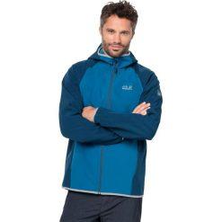 Kurtki sportowe męskie: Jack Wolfskin Kurtka męska ZENON SOFTSHELL MEN Glacier Blue r. L (1305132)