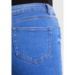 New Look DRAGONFLY Jeans Skinny Fit bright blue. Czarne jeansy damskie marki New Look, z materiału, na obcasie. Za 169,00 zł.