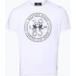 T-shirty męskie: La Martina - T-shirt męski, czarny
