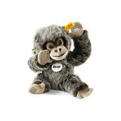 Steiff  Maskotka Gorilla Gora 25cm, kolor szary nakrapiany. Szare przytulanki i maskotki Steiff, z materiału. Za 195,00 zł.
