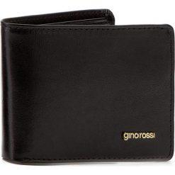 Portfele męskie: Mały Portfel Męski GINO ROSSI – AFV353-01S-PL00-9900-X Czarny