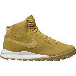 """Buty Nike Hoodland Suede """"Light Brown-Metallic Gold"""" (654888-727). Brązowe buty trekkingowe męskie Nike, outdoorowe. Za 319,99 zł."""