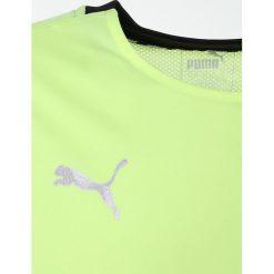 Puma GRAPHIC SHIRT  Koszulka sportowa fizzy yellow. Żółte t-shirty dziewczęce Puma, z materiału. Za 129,00 zł.