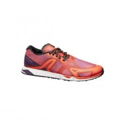 Buty do chodu sportowego RW 900 pomarańczowe / fioletowe. Niebieskie buty do fitnessu damskie marki DOMYOS, z materiału, małe. Za 219,99 zł.