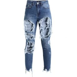 Rurki damskie: Missguided RIOT SUPER SHRED MOM LIGHT VINTAGE Jeansy Slim Fit light blue