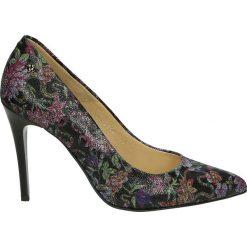 Czółenka - 3900 BLAC FLO. Szare buty ślubne damskie Venezia, ze skóry. Za 319,00 zł.