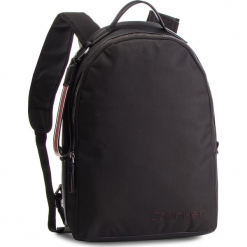 Plecak CALVIN KLEIN - Vault Round Backpack K50K428300  Black 001. Czarne plecaki męskie Calvin Klein, z materiału. Za 649,00 zł.