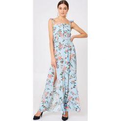 Długie sukienki: Flynn Skye Długa sukienka Bardot - Blue,Multicolor