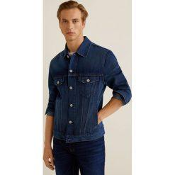 Mango Man - Kurtka jeansowa Ryan3. Niebieskie kurtki męskie jeansowe marki Reserved, l. Za 199,90 zł.